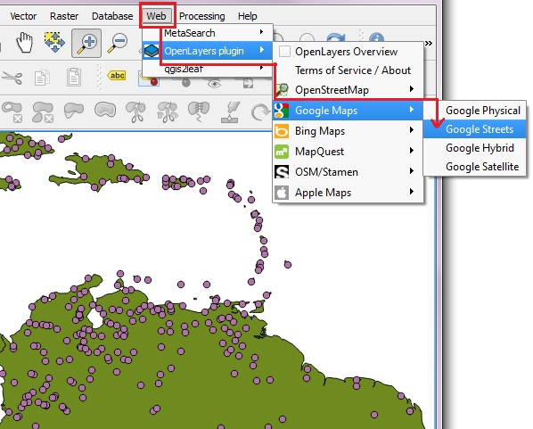 Qgis 20 add basemap click web from the top menu and open layers plugins gumiabroncs Images